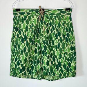 PATAGONIA Green Swim Short Size 34